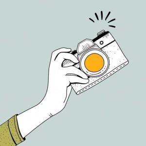 摄影师的日常:边修图,边听歌